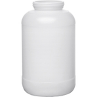 1 Gallon Natural HDPE Plastic Wide Mouth Jar, 89mm 89-400
