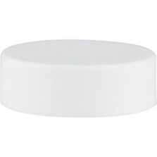33mm 33-400 White Smooth Plastic Cap w/PS22 Liner (Printed)