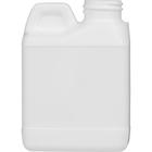 4 oz. White F-Style HDPE Bottle, 24mm 24-400