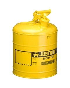5 Gallon, Type I Safety Can w/Self-Close Lid for Flammables, Yellow