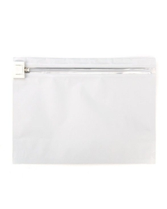 """12"""" x 9"""" White Child Resistant Barrier Bag, Push Release"""