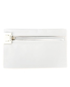 """8"""" x 6"""" White Child Resistant Barrier Bag, Push Release"""