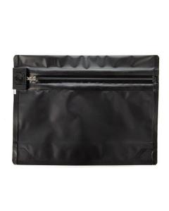 "8"" x 6"" Black Child Resistant Barrier Bag, Push Release"