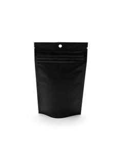 """4"""" L x 2-1/2"""" W x 6"""" H Black Child Resistant Barrier Bag, Zipper Pouch"""