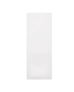 """4"""" x 1-1/2"""" White Child Resistant Single Use Barrier Bag, Open Top"""