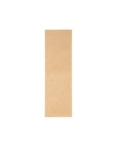 "5"" x 1-1/2"" Kraft Child Resistant Single Use Barrier Bag, Open Top"