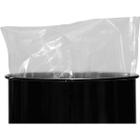 30 Gallon 4mil LDPE Tie-Top Flat Bottom Drum Liner