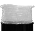 """30 Gallon (18"""" x 29"""") 15 mil LDPE Pleated Drum Liner"""