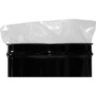 55 Gallon 4mil LDPE Tie-Top Flat Bottom Drum Liner