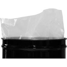 55 Gallon 6mil LDPE Fold-back Flat Bottom Drum Liner