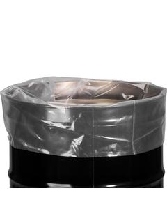 55 Gallon 8 mil LDPE Fold-Back Flat Bottom Drum Liner