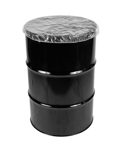 4mil Clear LDPE Shower Cap Drum Cover