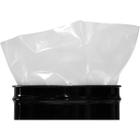 55 Gallon 10mil LDPE Fold-back Round Bottom Drum Liner