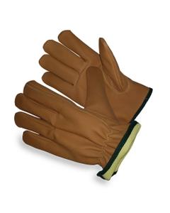 Tan Goatskin Drivers Work Gloves, Cut Resistant
