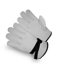 White Goatskin Electrical Welding Work Gloves