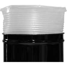 55 Gallon 18mil LDPE Pleated Rigid Drum Liner