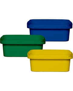 8 oz. Square Tamper Evident Containers