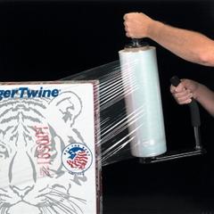"60 Gauge - 12"" x 2000' Clear Blown Stretch Wrap Film, 4/pk"