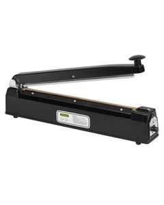 """16"""" Impulse Sealer w/Cutter, Hand Operated, 1/16"""" Seal, Up to 12 Mil Thickness"""