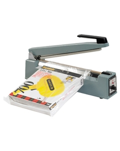 """12"""" Impulse Sealer, Hand Operated, 1/5"""" Seal, Up to 12 Mil Thickness"""
