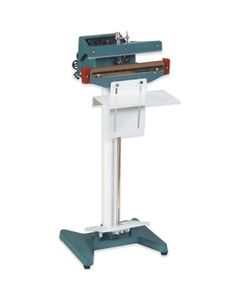 """18"""" Impulse Sealer, Foot Operated, 1/16"""" Seal, Up to 24 Mil Thickness"""