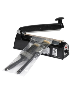 """8"""" Impulse Sealer, Hand Operated, 1/16"""" Seal, Up to 12 Mil Thickness"""