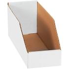 """12"""" x 4"""" x 4 1/2"""" Open Top Bin Boxes (200#/ECT-32)"""