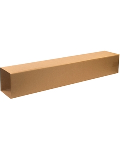 """8-1/2"""" x 8-1/2"""" x 48"""" Corrugated Telescoping Outer Box, 200#/ECT-32"""