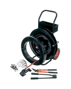 """Deluxe Steel Strapping Kit with 100 lb. Coil of 1/2"""" Steel Strapping & More"""