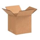 "5"" x 5"" x 5"" Cubed Corrugated Box, Single Wall, 200#/ECT-32"