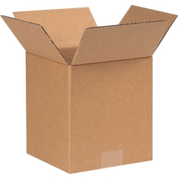 """7"""" x 7"""" x 8"""" Corrugated Box, Single Wall, 200#/ECT-32"""
