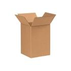 """7"""" x 7"""" x 10"""" Corrugated Box, Single Wall, 200#/ECT-32"""