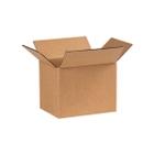 """8"""" x 6"""" x 6"""" Corrugated Box, Single Wall, 200#/ECT-32"""