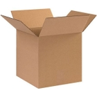 """10"""" x 10"""" x 10"""" Heavy-Duty Cubed Corrugated Box, Double Wall, 275#/ECT-48"""