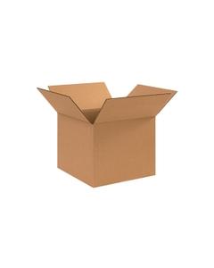 """12"""" x 12"""" x 10"""" Corrugated Box, Single Wall, 200#/ECT-32"""