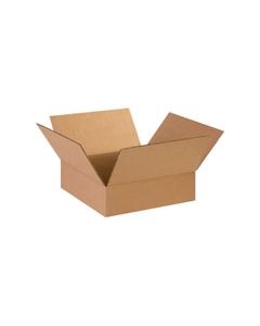 """14"""" x 14"""" x 4"""" Flat Corrugated Box, Single Wall, 200#/ECT-32"""