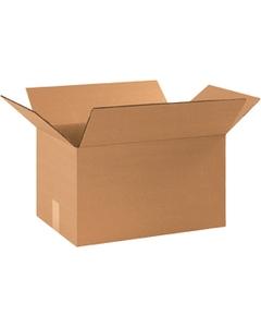 """18"""" x 10"""" x 10"""" Corrugated Box, Single Wall, 200#/ECT-32"""