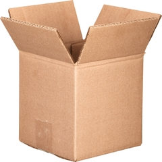 "6"" x 6"" x 6"" Corrugated Box, Double Wall, 275#/ECT-48"