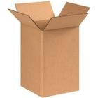 """8"""" x 8"""" x 12"""" Corrugated Box, Single Wall, 200#/ECT-32"""