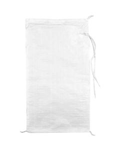 """14"""" x 26"""" White Woven Polypropylene Bag"""