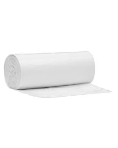 """24"""" x 33"""" White PE Trash Bags, 1.2 mil, 75/rl"""