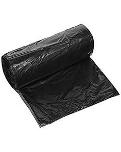 """14"""" x 10"""" x 35"""" Black 1.5 mil PE Trash Bag"""