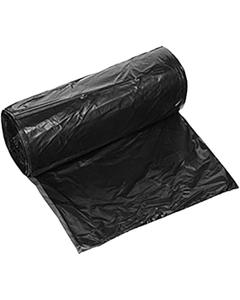 """22"""" x 14"""" x 60"""" Black PE Trash Bags, 2.75 mil, 50/rl"""