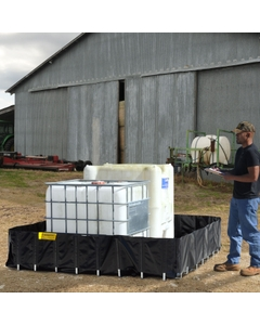 """8' x 8' x 20"""" Ultra-Containment Berms®, Agriculture Model, Economy - UltraTech 8260"""