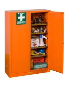 Emergency Preparedness Storage Cabinet, Orange (Justrite® 860001)