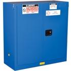 Sure-Grip® EX Hazardous Material Safety Cabinet, 30 Gallon, S/C Doors, Royal Blue