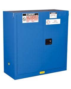 Sure-Grip® EX Hazardous Material Safety Cabinet, 30 Gallon, S/C Doors, Royal Blue (Intl)