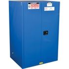 Sure-Grip® EX Hazardous Material Safety Cabinet, 90 Gallon, S/C Doors, Royal Blue