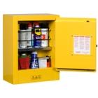 Sure-Grip® EX Mini Flammable Safety Cabinet, 4 Gallon, M/C Door, Yellow