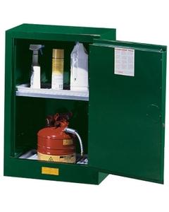 Sure-Grip® EX Compac Pesticides Safety Cabinet, 12 Gallon, M/C Doors, Green (Intl)